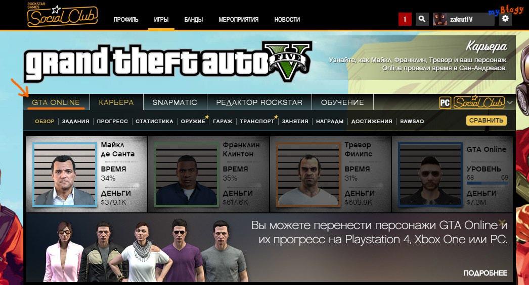 GTA Online Social Club