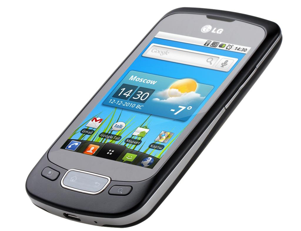 Обзор LG Optimus One P500 - мой первый сенсорный телефон