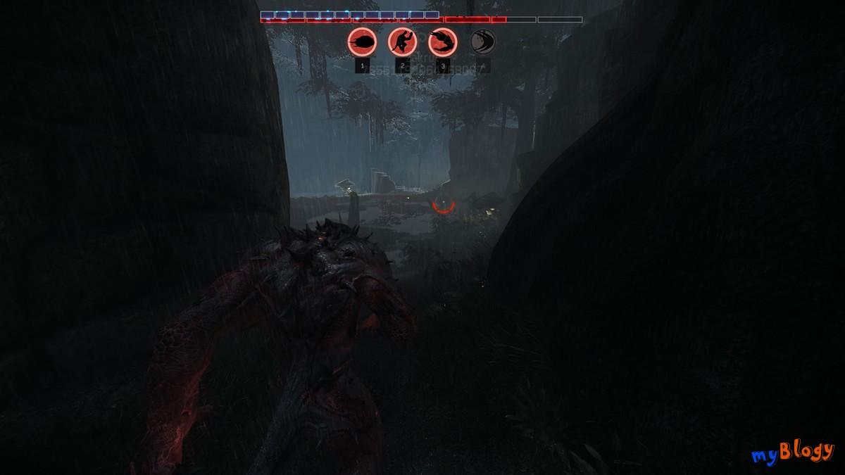 Скриншот геймплея (gameplay) игры EVOLVE