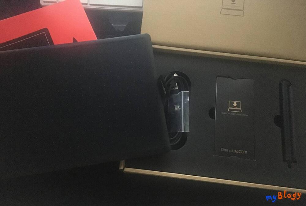 Комплектация графического планшета Wacom One medium CTL-672
